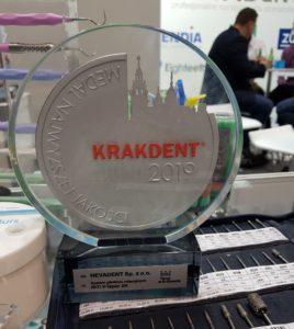 Medal najwyższej jakości Krakdent 2019 Nevadent